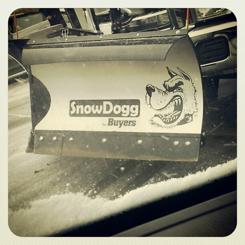 What I notice while waiting for gas... #Blizzard2013 #snow #BlizzardPrep #coolplow #dogs