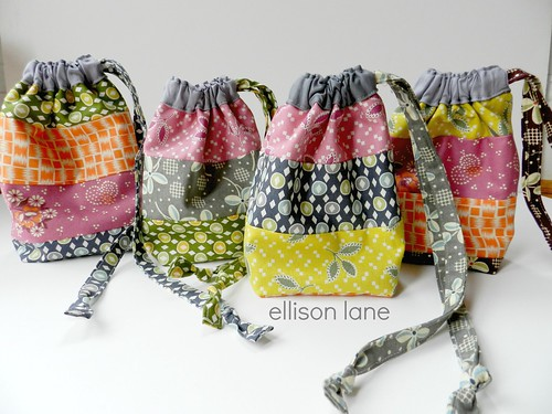 drawstring pouches scrappy