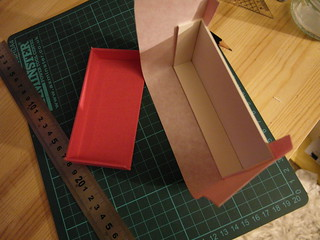 Pink box in the making