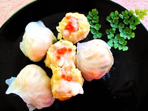 IMG_0455 烧卖和虾饺,siu mai and har gao
