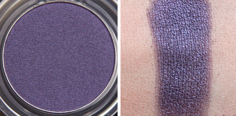 TBS blackcurrant affair colour crush eyeshadow swatch