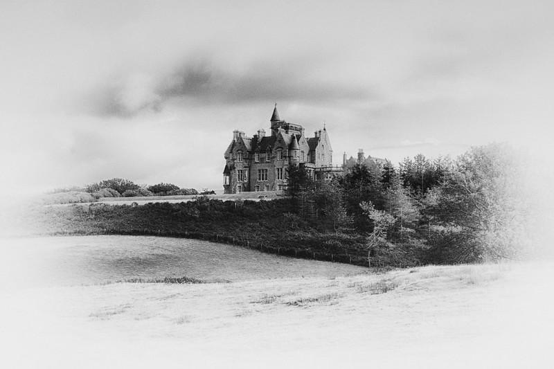Glengorm Castle, Isle of Mull.