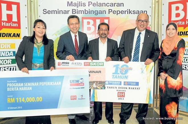 MAHFAR ALI / SEMINAR BIMBINGAN PEPERIKSAAN BH 2013