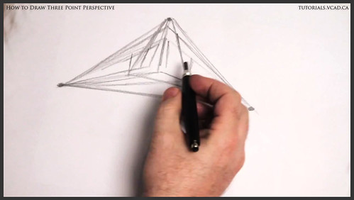 learn how to draw three point perspective 003