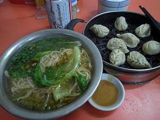 チンゲン菜麺