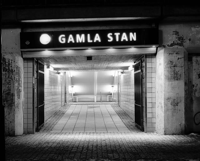 Mamiya RZ67 – BW – RolleiRetro80s – Gamla Stan