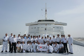 QE2 in Warm Lay-up in Dubai, April 26th 2011