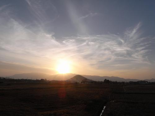 藤原宮跡から眺める大和三山-05