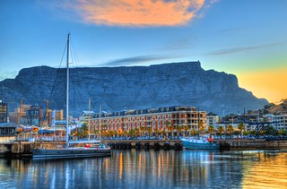 V&A Waterfront & Boats