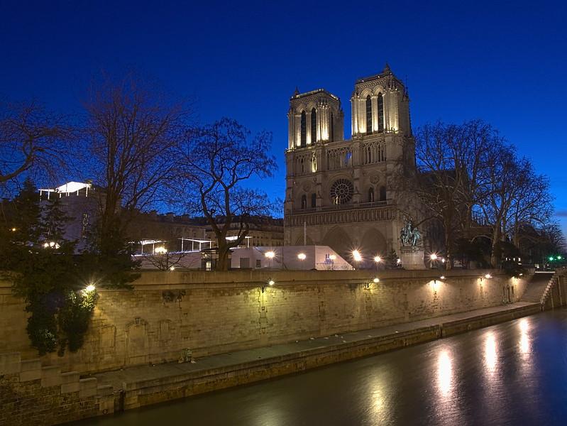 LES PHOTOS: lever de soleil sur la Seine 8479904354_76cd7bb136_c