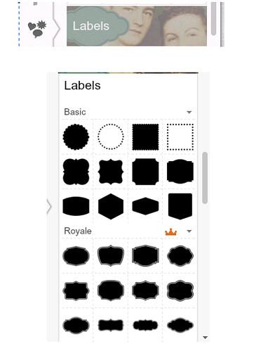 seleziona labels e scegli quelle gratis picmonkey, blog button with picmonkey, Corso migliora il tuo blog, http://cecrisicecrisi.blogspot.it/, come fare un banner,
