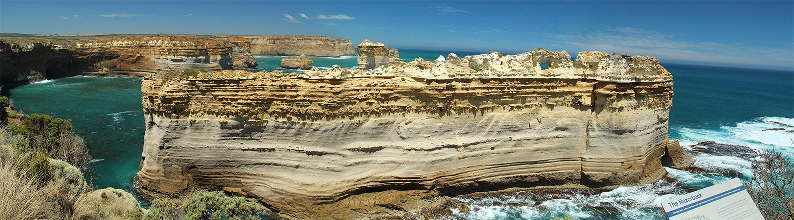 Razorback panorama