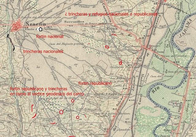 Batalla del Jarama. Frente de Seseña, 1937