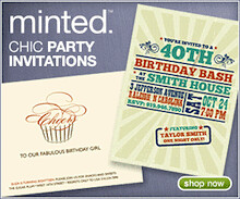Fresh Party Invitations from Minted