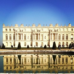 My first time at Versailles.