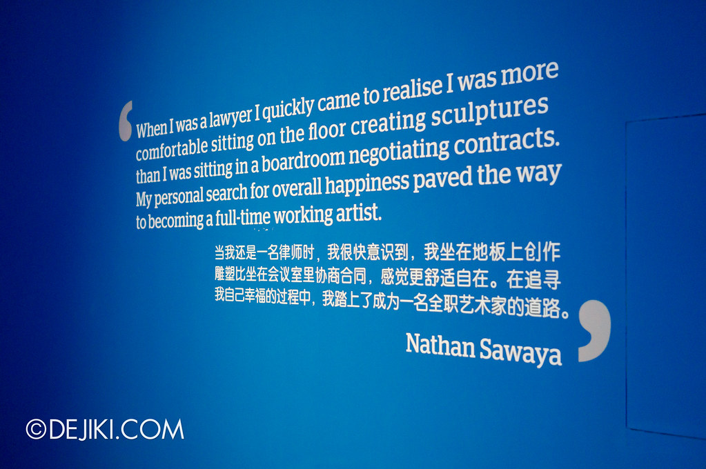 Art of The Brick - Nathan Sawaya quote