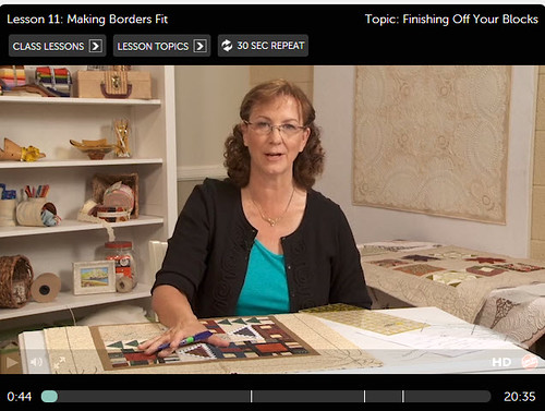 Cindy Needham Craftsy Free-Motion Quilting 11