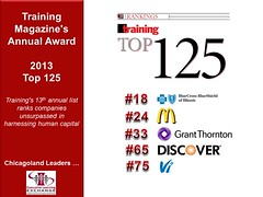 Training Magazine's 2013 Top 125