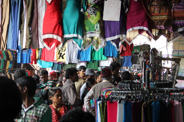 Serious shopping in Kolkata