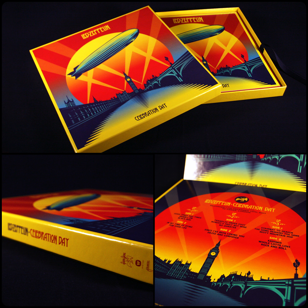 Led Zeppelin Celebration Day Box Set A Photo On Flickriver