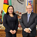 Chief of Staff De Zela Receives Foreign Minister of Guyana