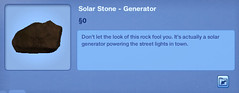 Solar Stone - Generator