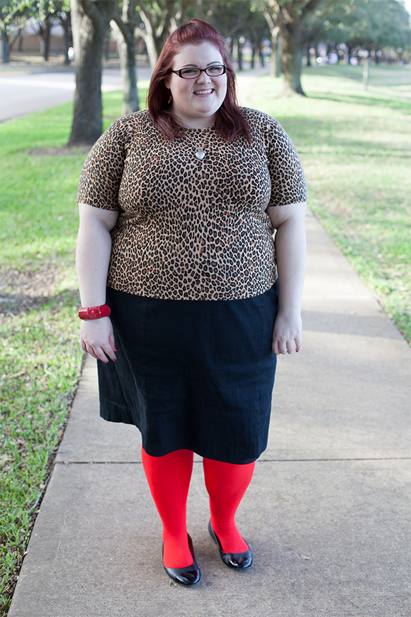 OOTD: Winter Leopard