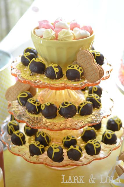 Cake balls & meringues
