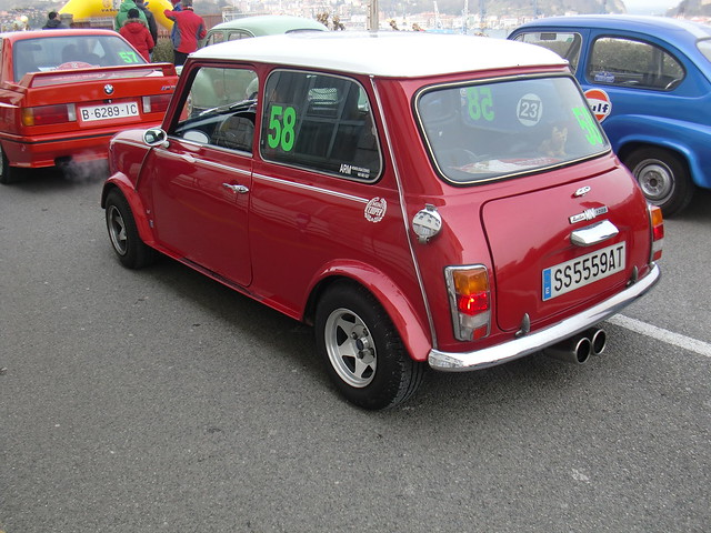 SALIDA M3 E30, AUSTIN MINI 1000