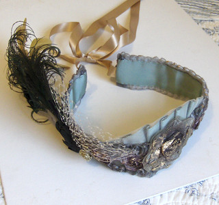 Goddess flapper headband.