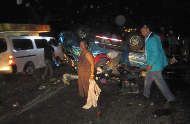 Accidente en Puerto Plata