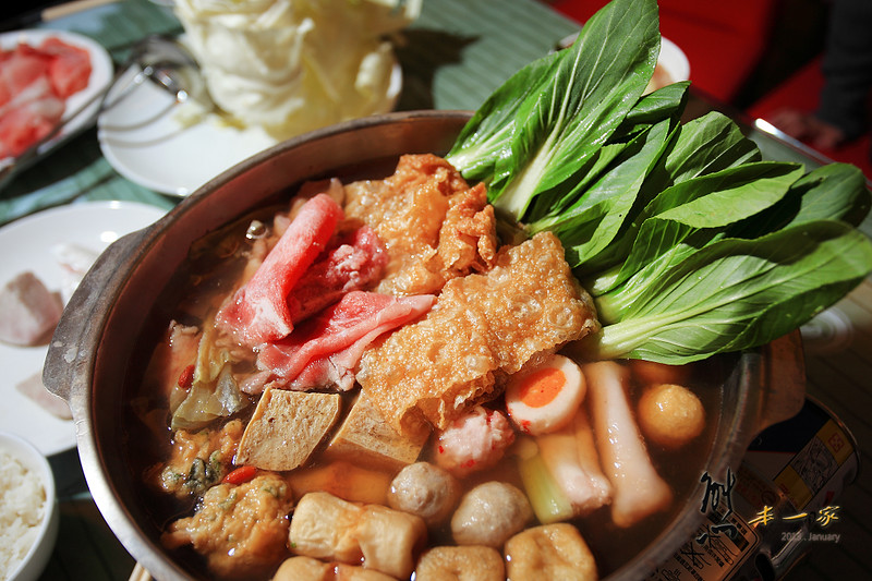 [南投清境餐廳] 清境之星民宿|餐點-午茶早晚餐~手工有機茶點和好喝火鍋湯頭