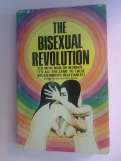 bisexual revolution's rainbow book cover