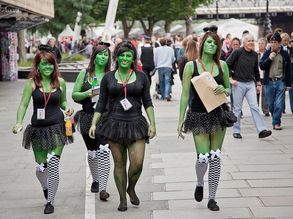 • Green girls •