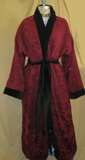front mr march's dressing robe