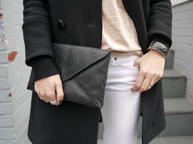 my fair vanity black trench white jeans style blog neutral for spring 2013