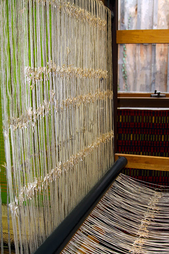 wool linen silk weaving weave loom narrowsburg sullivancounty heddle alpac narrowsburgny harrisvillerugloom charleshadleyblanchard dyeberryweaver