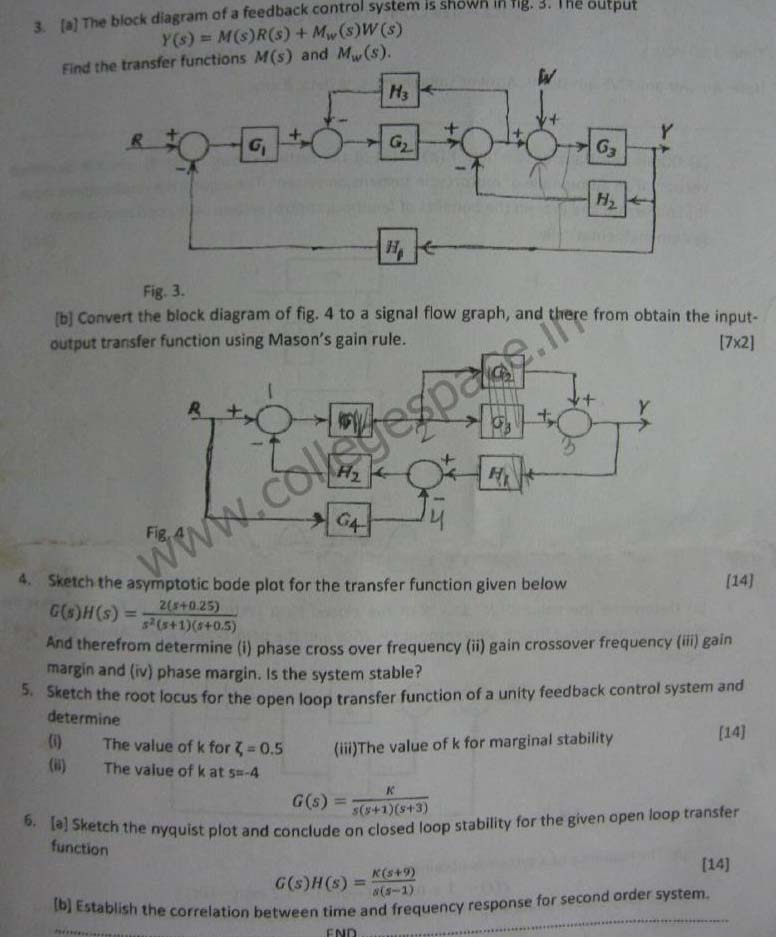 NSIT Question Papers 2012 – 6 Semester - End Sem - ICE-314