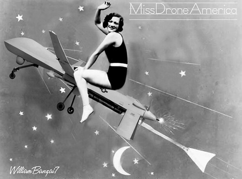 MISS DRONE AMERICA by Colonel Flick/WilliamBanzai7