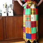 patchwork skirt from Low Vintage in VA