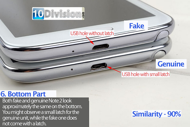 6 Samsung Galaxy Note 2 (GT-N7100) - Clone vs Original Ultimate Comparison