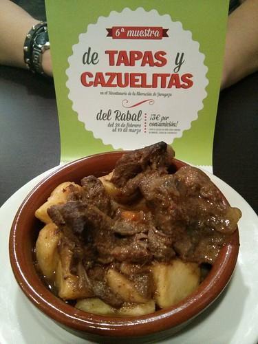 Zaragoza | Café del Marqués | Cazuelita de ciervo con patatas