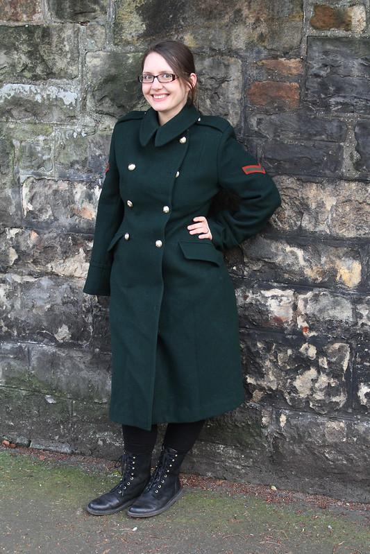 women's greatcoat