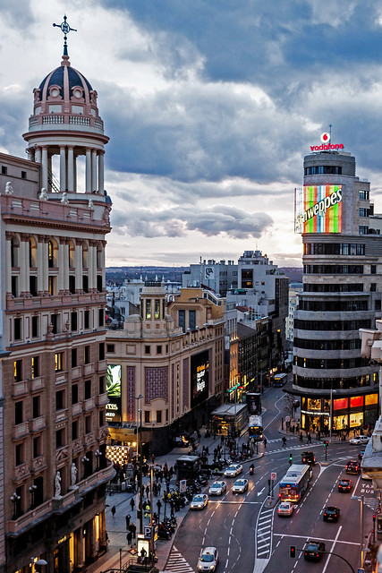 Gran Via @ Sunset