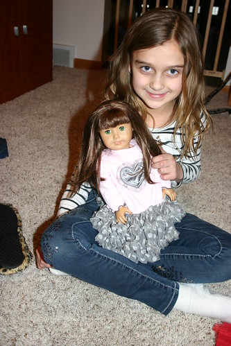 Karli and her doll