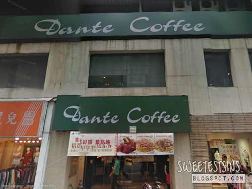 taiwan taipei trip may 2012 day 1 - 11 dante coffee Baoqing Store