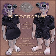 Bugeye Alien Avatars