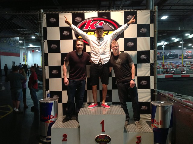 8557794496 342a6dfe82 z Anaheim Ducks players at K1 Speed!