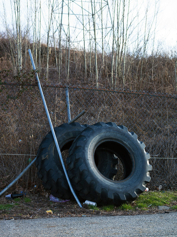 Tires, Trash and High Tension