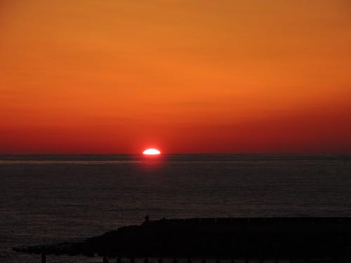 sunset sun 太陽 夕日 夕暮れ 夕焼け 日の入り